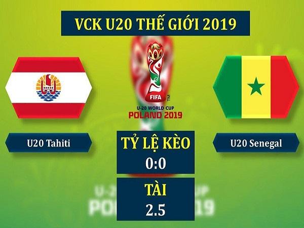 Dự đoán U20 Tahiti vs U20 Senegal, 23h00 ngày 23/05