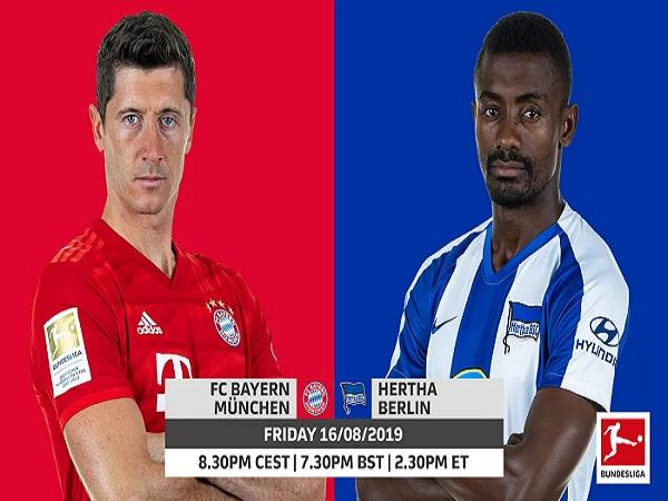 Nhận định Bayern Munich vs Hertha Berlin 01h30, 17/08 (VĐQG Đức)