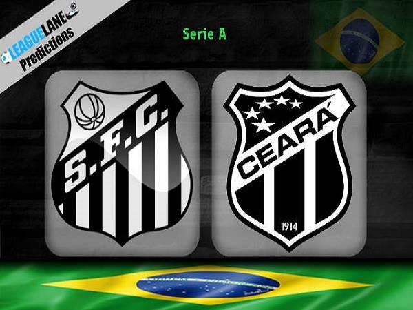 Nhận định kèo Santos vs Ceara 5h15, 18/10 (VĐQG Brazil)