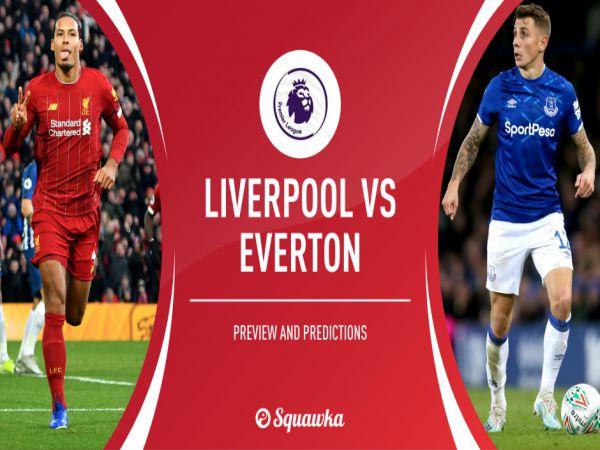 Nhận định kèo bóng đá Everton vs Liverpool