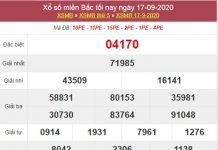 Soi cầu XSMB 18/9/2020 chốt lô số đẹp miền Bắc thứ 6