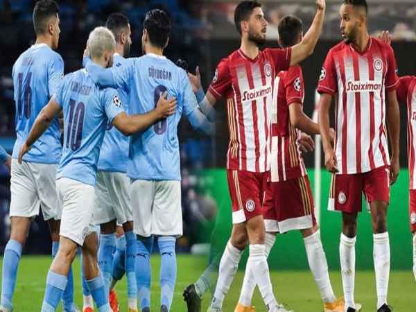 Nhận định, soi kèo Olympiakos vs Man City, 00h55 ngày 26/11 - Cup C1