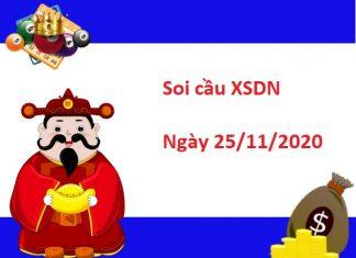 Soi cầu XSDN 25/11/2020