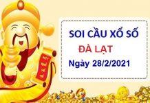Soi cầu XSDL ngày 28/2/2021