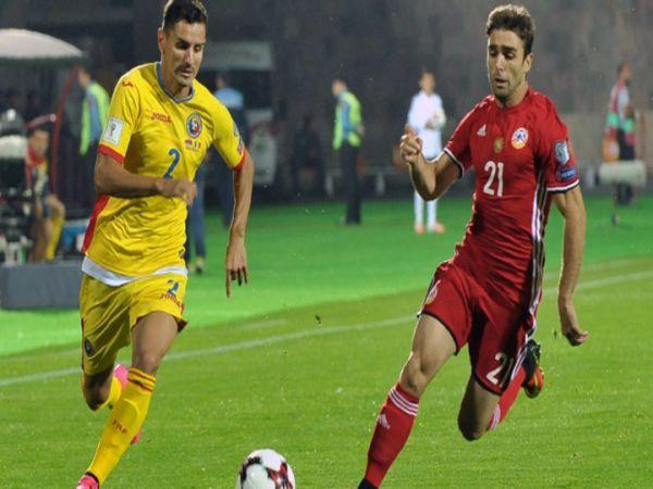 Nhận định, Soi kèo Armenia vs Romania, 23h00 ngày 31/3 - VL World Cup