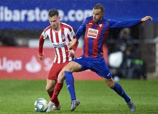 Nhận định tỷ lệ Atletico Madrid vs Eibar (21h15 ngày 18/4)
