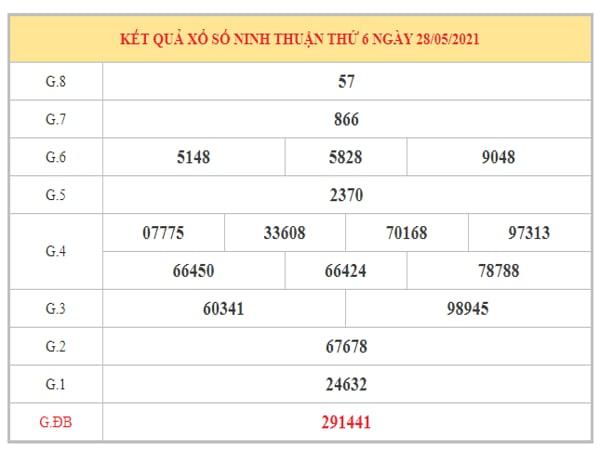 Soi cầu XSNT ngày 4/6/2021 dựa trên kết quả kì trước