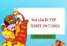Soi cầu lô VIP XSMT 29/7/2021