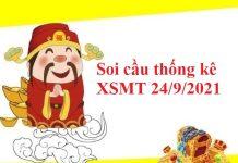 Soi cầu thống kê KQXSMT 24/9/2021