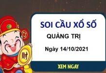 Soi cầu KQXSQT ngày 14/10/2021